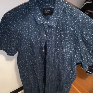 Globe Button-Up Shirt